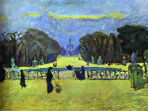 Tuileries Gardens - Pierre Bonnard