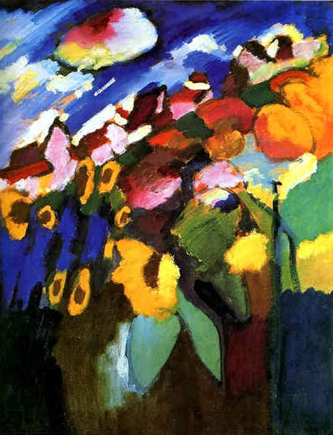 Murnau Garden - Wassily Kandinsky
