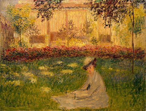 Woman in a Garden - Claude Monet