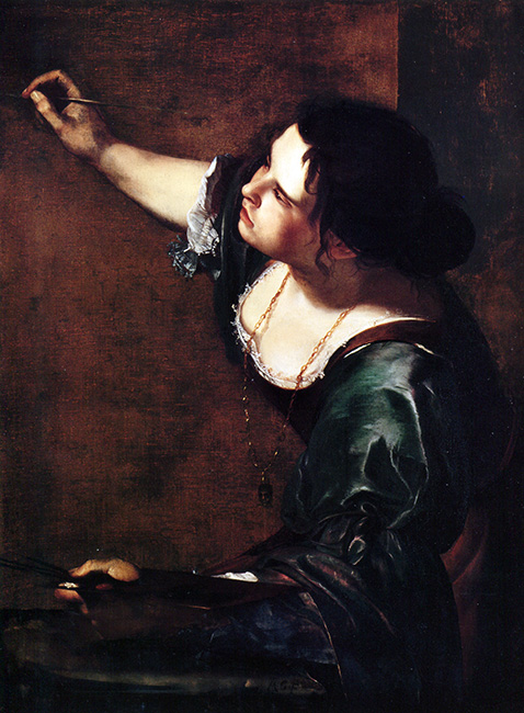 Autoritratto - Artemisia Gentileschi