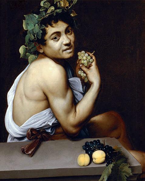Autoritratto come Bacco (Bacchino malato) - Caravaggio
