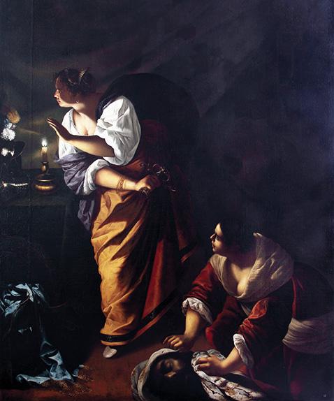 Giuditta e la fantesca Abra - Artemisia Gentileschi