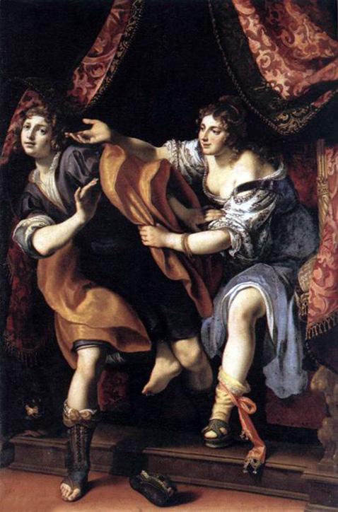 Giuseppe e la moglie di Putifarre - Ludovico Cardi, detto il Cigoli