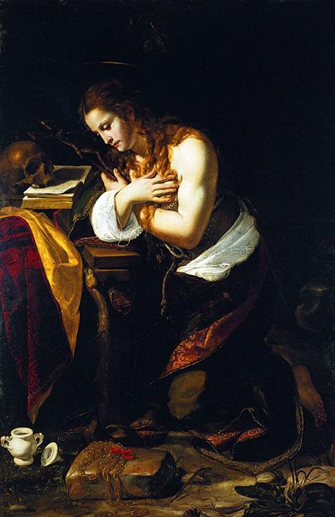Santa Maria Maddalena penitente - Giovan Francesco Guerrieri