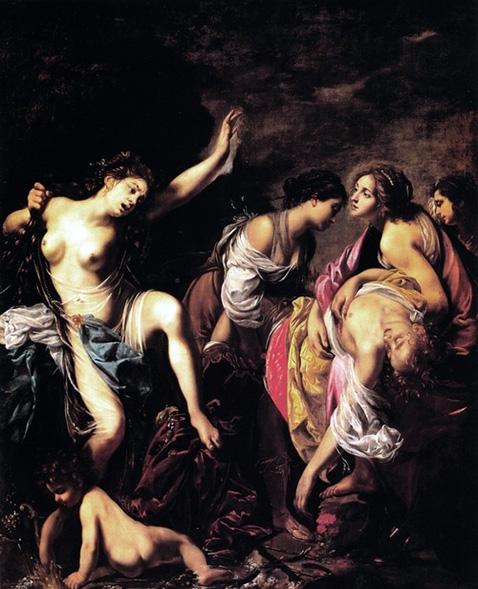 Venere piange la morte di Adone - Francesco Furini
