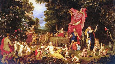 Allegoria dei cinque sensi - Jan Brueghel Il Vecchio