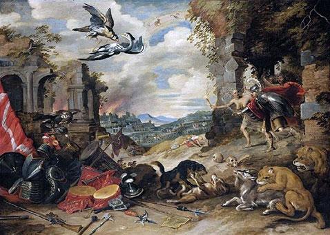 Allegoria della guerra - Jan Brueghel Il Giovane