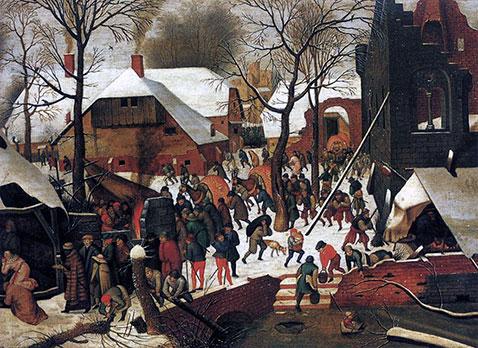 Adorazione dei Magi  - Pieter Brueghel Il Giovane