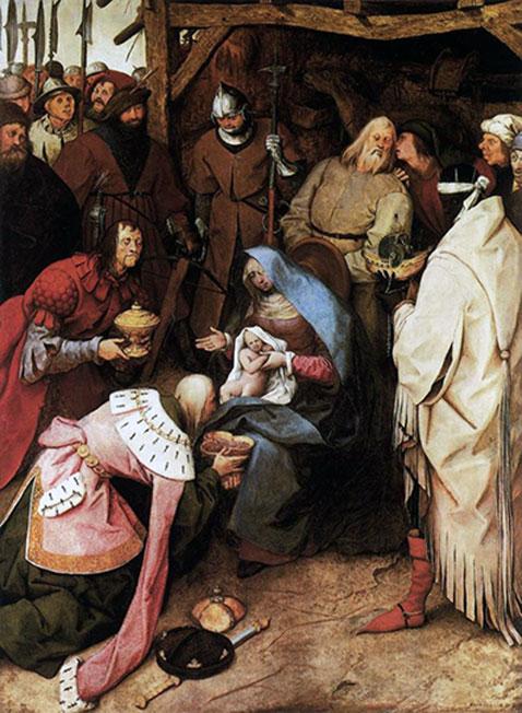 Adorazione dei Re - Pieter Brueghel Il Vecchio