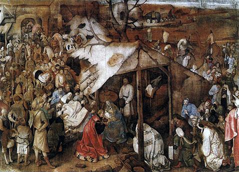 Adorazione dei Magi - Pieter Brueghel Il Vecchio