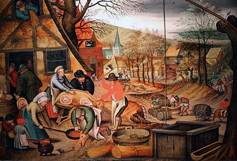 Autunno - Pieter Brueghel Il Giovane