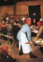 Banchetto nuziale - Pieter Brueghel Il Vecchio