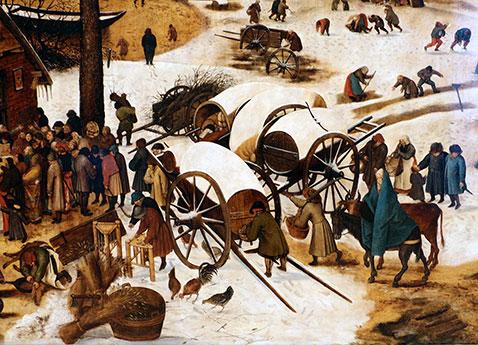 Censimento di Betlemme - Pieter Brueghel Il Giovane