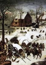Censimento di Betlemme - Pieter Brueghel Il Vecchio