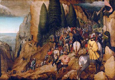 Conversione di san Paolo - Pieter Brueghel Il Vecchio
