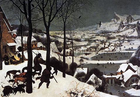 Cacciatori nella neve - Pieter Brueghel Il Vecchio