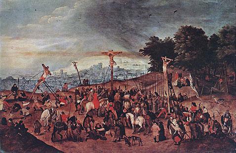 Crocifissione - Pieter Brueghel Il Giovane