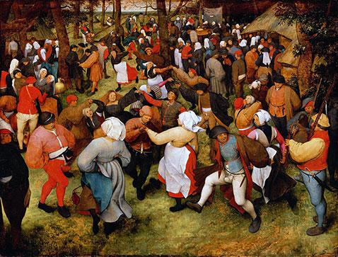 Danza nuziale - Pieter Brueghel Il Vecchio