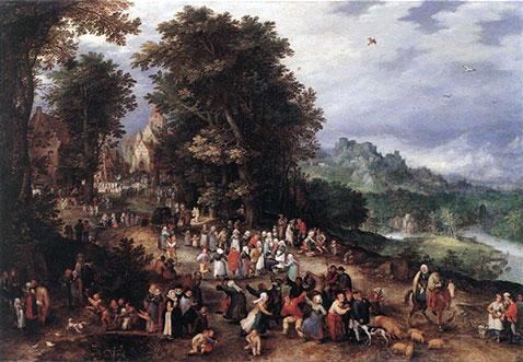 Fiammingo - Jan Brueghel Il Vecchio