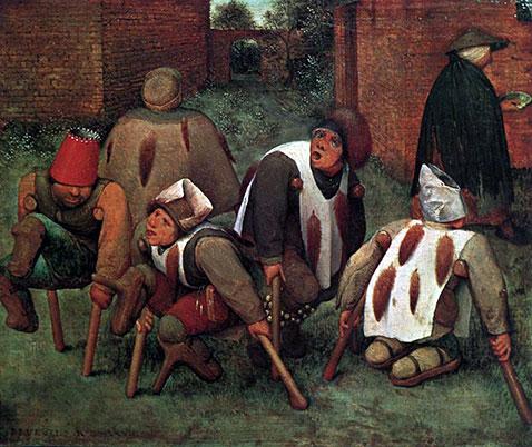 Gli Storpi - Pieter Brueghel Il Vecchio