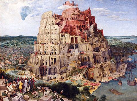 Grande Torre di Babele - Pieter Brueghel Il Vecchio