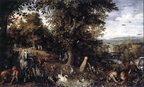 Giardino dell'Eden - Jan Brueghel Il Vecchio