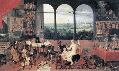 Il senso dell'udito - Jan Brueghel Il Vecchio