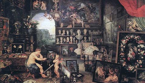 Il senso della vista - Jan Brueghel Il Vecchio