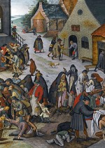 Le sette opere di misericordia - Pieter Brueghel Il Giovane