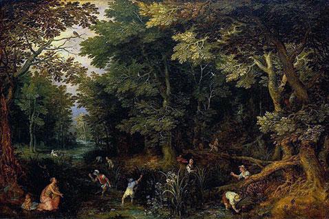 Latona e contadini della Licia - Jan Brueghel Il Vecchio