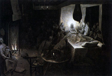 Morte di Maria - Pieter Brueghel Il Vecchio