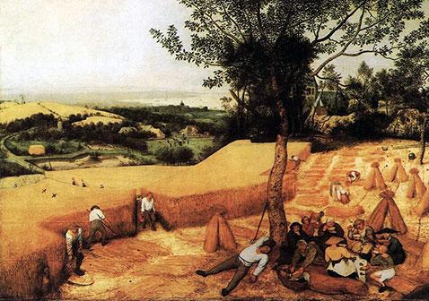 Mietitura - Pieter Brueghel Il Vecchio