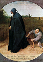 Misantropo - Pieter Brueghel Il Vecchio