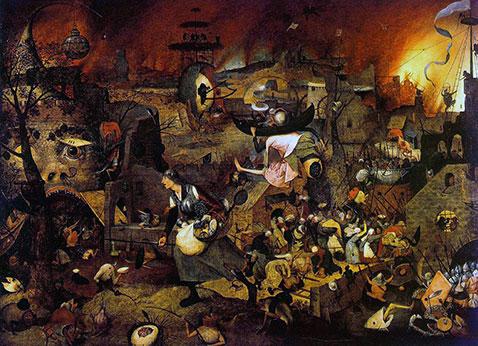 Margherita la pazza - Pieter Brueghel Il Vecchio