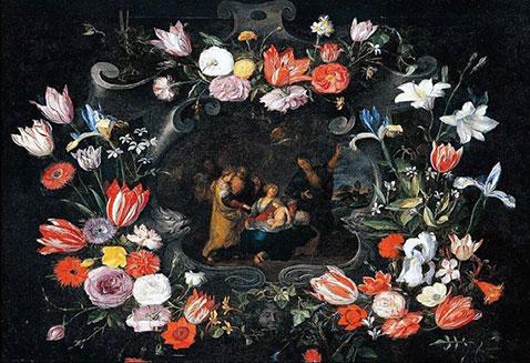 Natura morta del sacro potere sovrano - Jan Brueghel Il Giovane