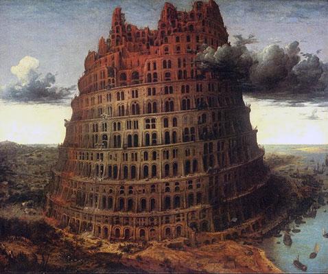 Piccola Torre di Babele - Pieter Brueghel Il Vecchio