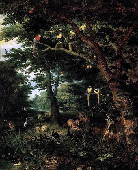 Paradiso - Jan Brueghel Il Giovane