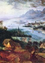 Paesaggio con la parabola del seminatore - Pieter Brueghel Il Vecchio