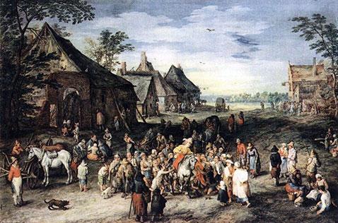 San Martino - Jan Brueghel Il Vecchio