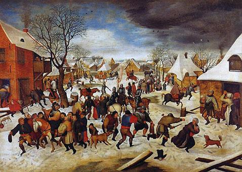 Strage degli innocenti - Pieter Brueghel Il Giovane