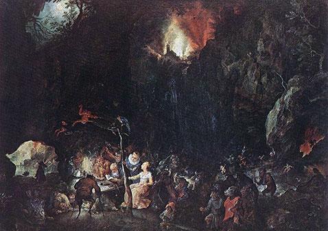 Tentazione di sant'Antonio - Jan Brueghel Il Vecchio