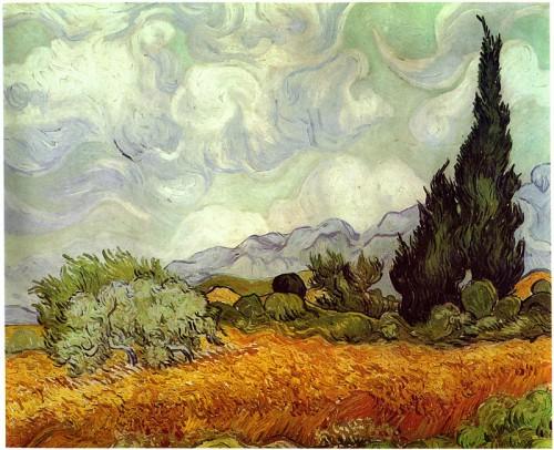 Cipressi, 1889