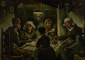 I mangiatori di patate, 1885