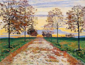 Autumn-Evening-Ferdinand-Hodler-autumn-evening-1892