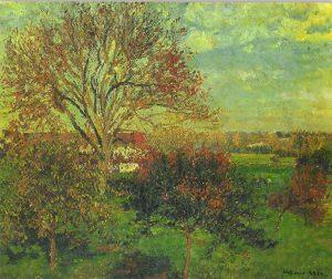 Camille Pissarro, Mattino d'autunno