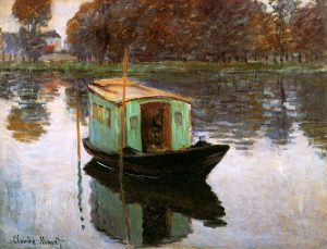 Claude_Monet_The_Studio_Boat