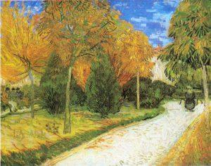 Il sentiero nel parcodi Arles, Van Gogh
