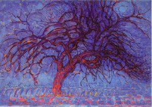 MONDRIAN - L'albero rosso