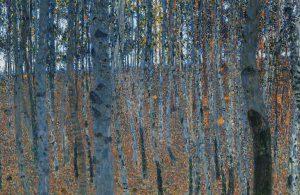 Quadro-Picture-Klimt-Faggeto-I-Beech-Forest-I-dettaglio-detail