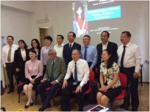 Incontro delegazione cinese